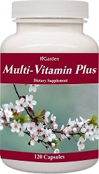 Multi-Vitamin Plus, 120 caps.