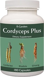 Cordyceps Plus, 180 caps.